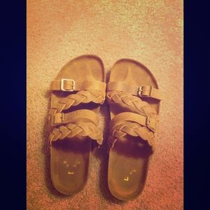 White Mountain Shoes - Brown Sandals